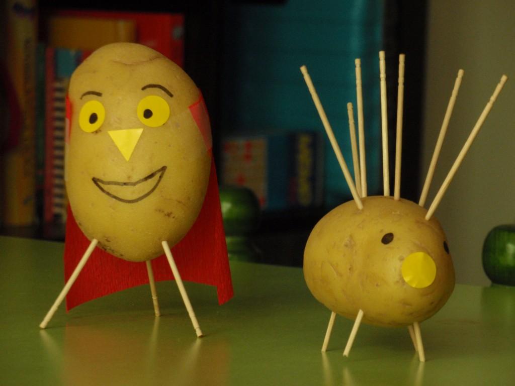 personatges patata