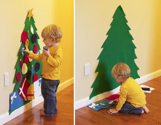 arbre de Nadal de feltre