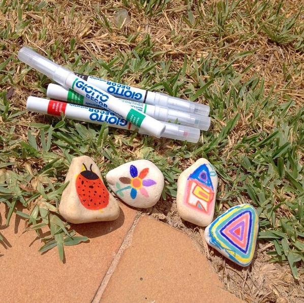 pedres pintades