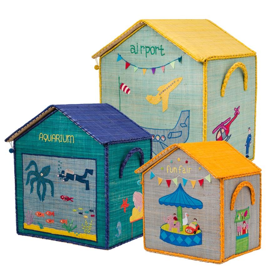Caixes per guardar joguines