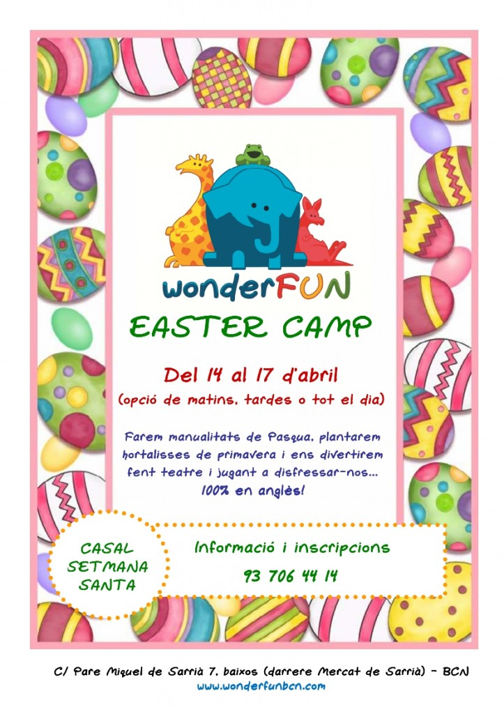 POSTER EASTER CAMP