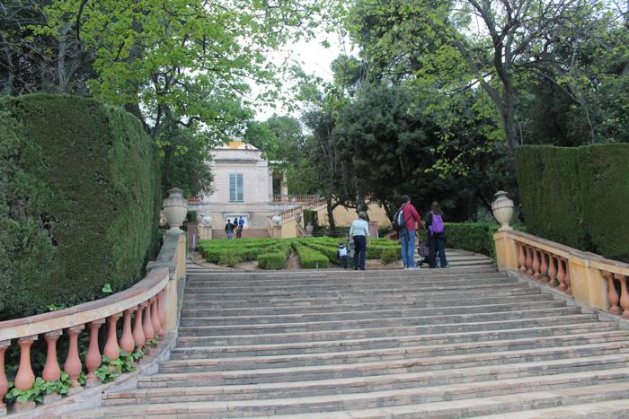 parc del laberint escales