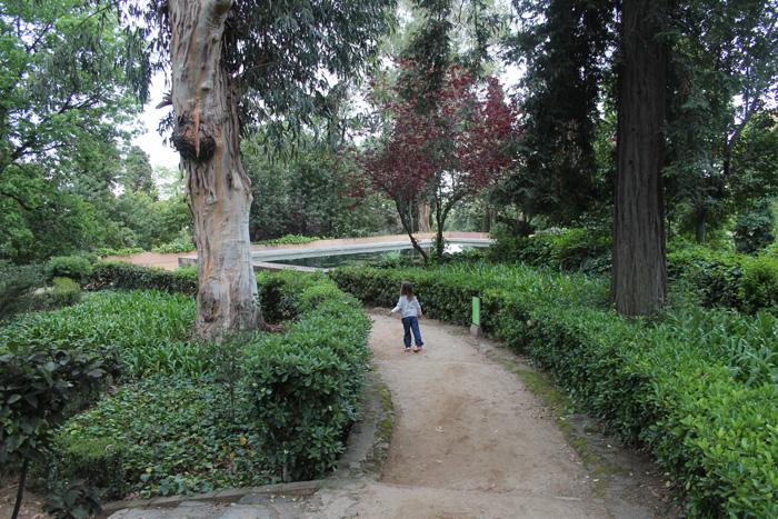 parc del laberint bassa
