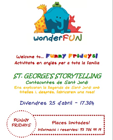 Poster Funny Fridays_StJordi