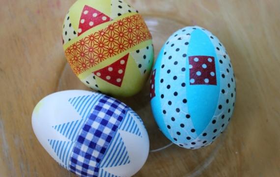 decoracio ous pasqua amb washitape
