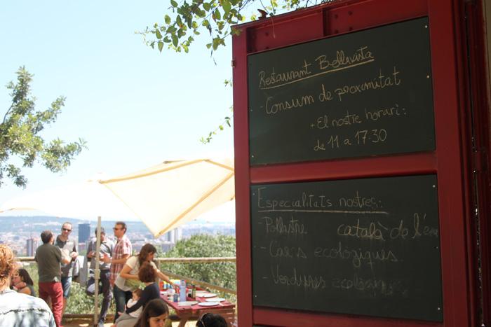restaurant parc oreneta
