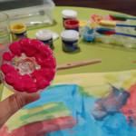 pintar amb ampolles de plastic