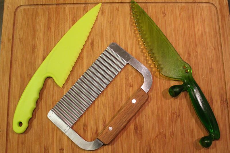 ganivets per a nens