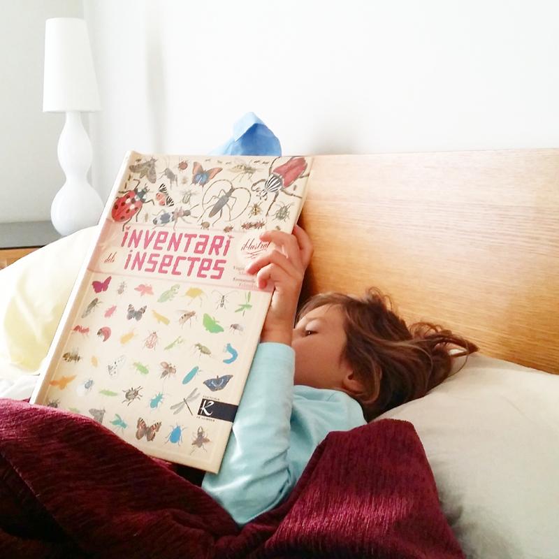 llibres insectes nens