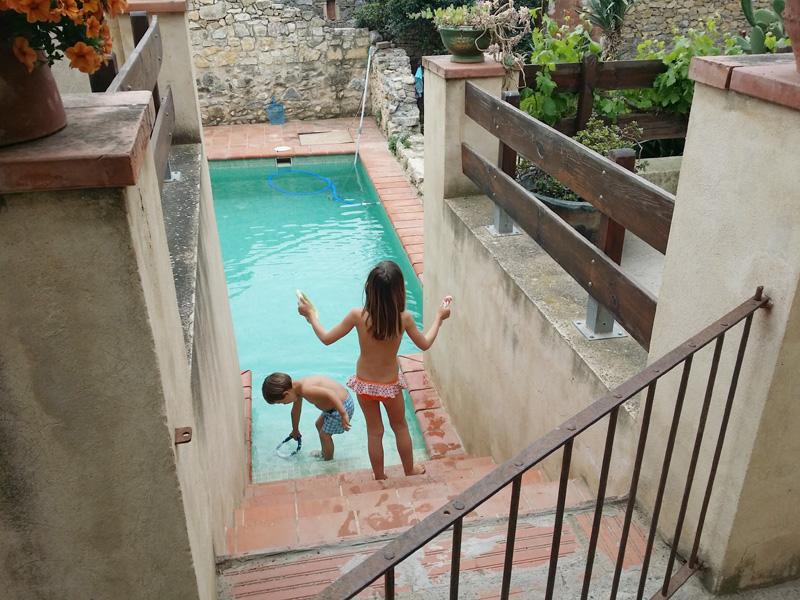 piscina casa llers
