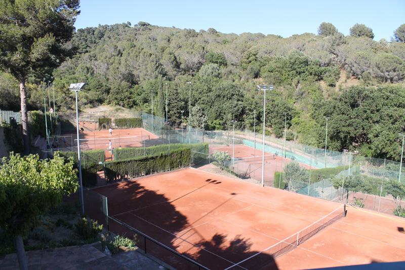 tennis terra batuda collserola