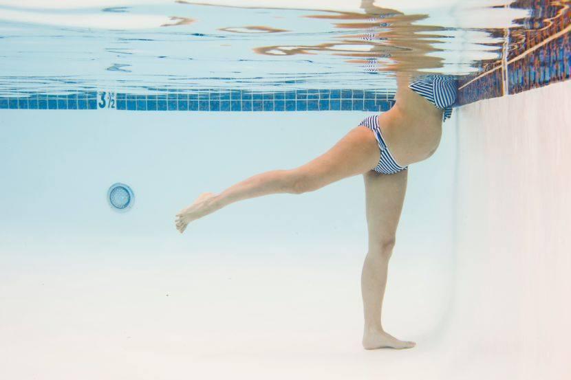 AIPAP embarazadas piscina