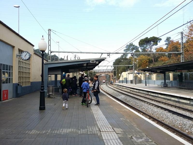 estacio ferrocarrils vallvidrera